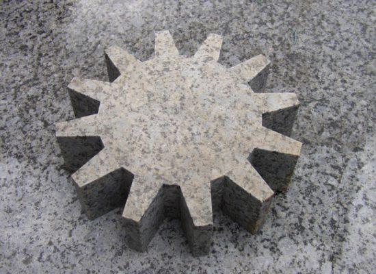 Serie Steinzahnräder